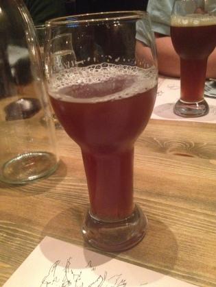 Nytappet på Ægir Bryggeripub på Flåmsbrygga!