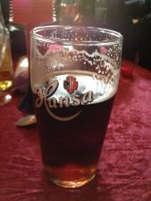 Newcastle Brown Ale fat